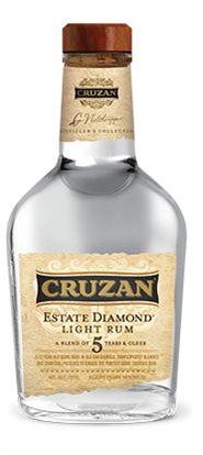 Cruzan Rum Light Estate Diamond